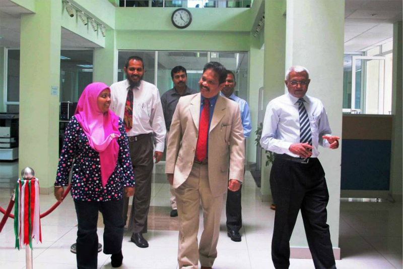 Events : High Commissioner's visit to Maldives National